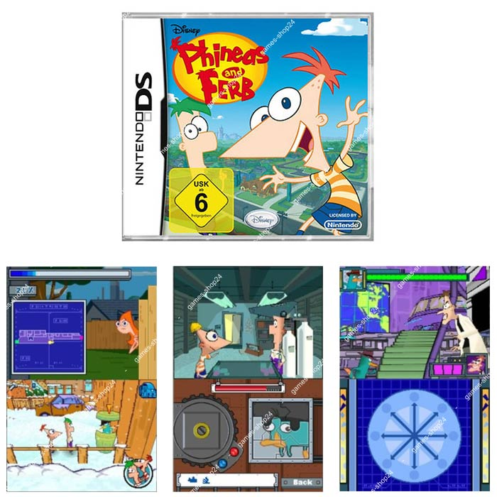 phineas and ferb spiele